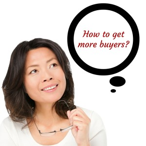 how to get more buyers