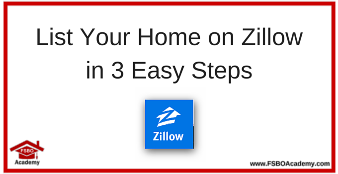List your home on Zillow How To