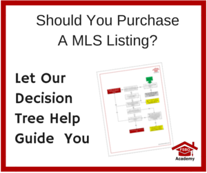 Ad - Should You PurchaseA MLS Listing-
